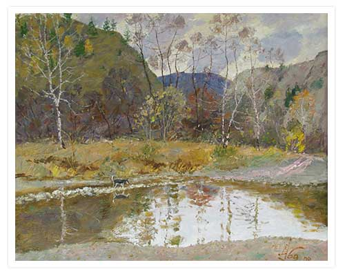 Пейзажи современных художников