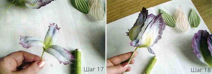 Изготовление цветов. Роспись.