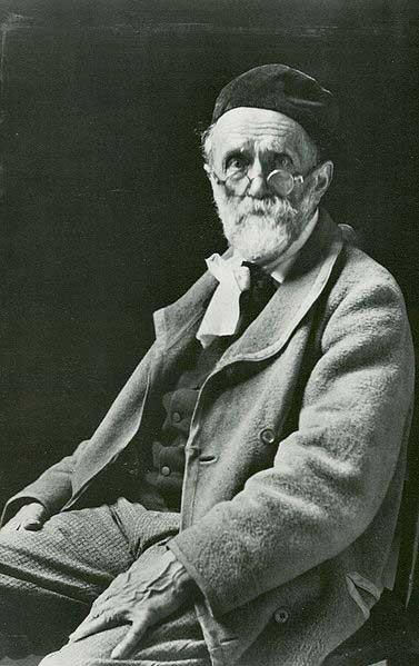 Художник Альберт Анкер в 1901 году