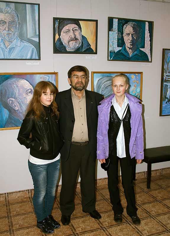 Зиялет Загретдинович и его учиницы